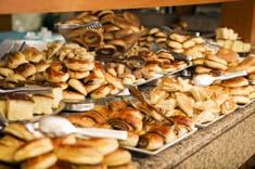 bakery full of bread