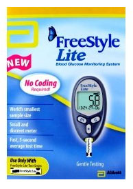 Abbott Freestyle Lite Glucose Meter Review Diabetes Well