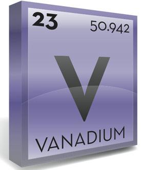 vanadium symbol