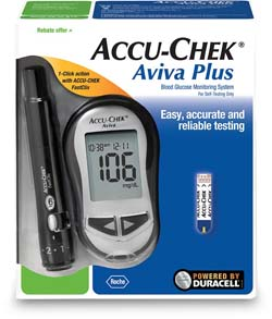aviva plus glucose meter