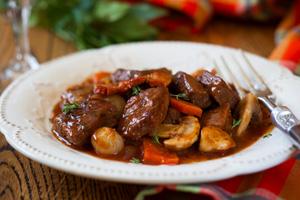 diabetic beef burgancy recipe