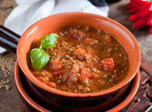 Diabetic Lentil Soup Recipe