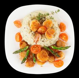 tomato and scallop recipe
