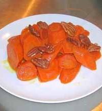decadent diabetic glazed carrots