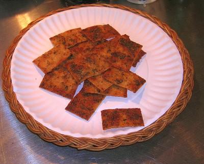 Diabetic Compatible Lavash Chips